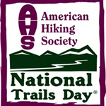 American Hiking Society National Trails Day logo