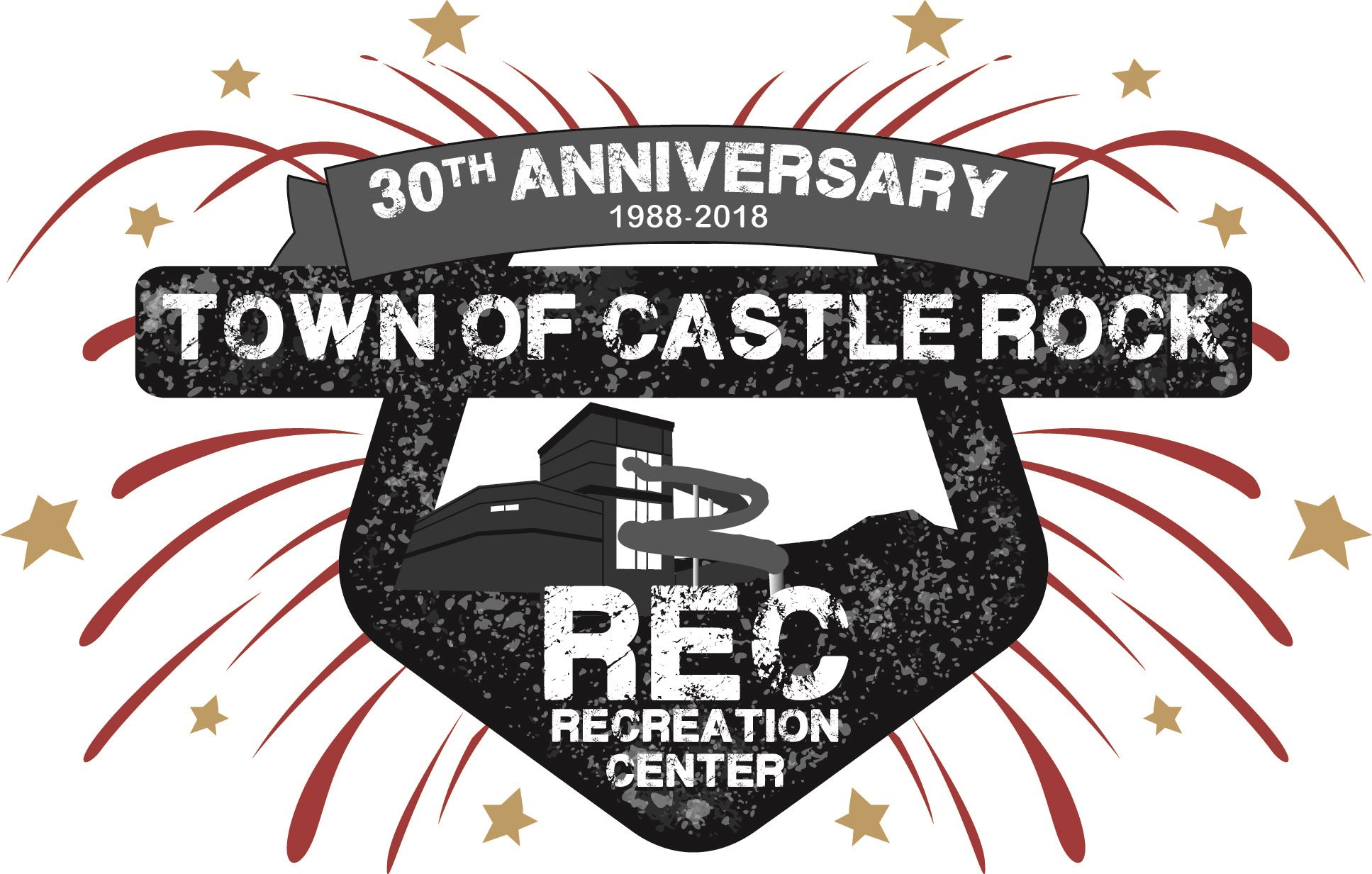 Rec Center 30th Anniversary Logo