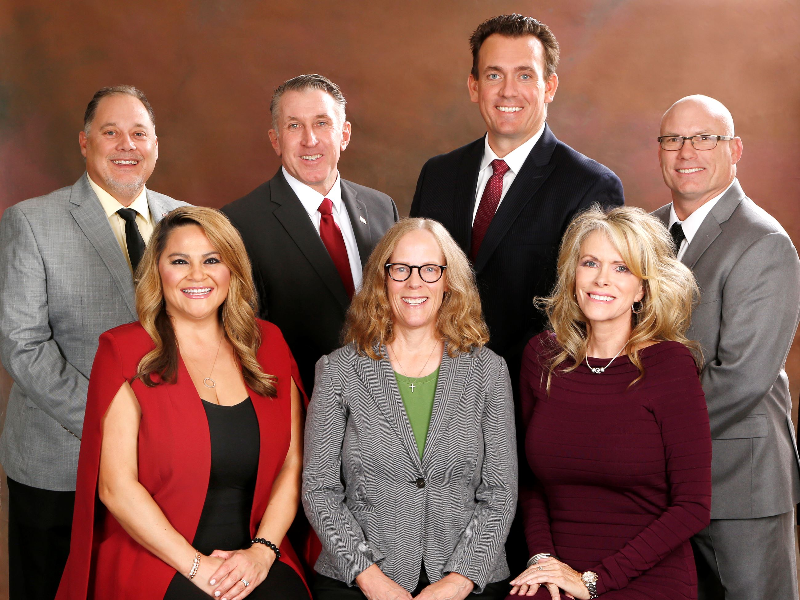 Photo of the 2020-2022 Town Councilmembers