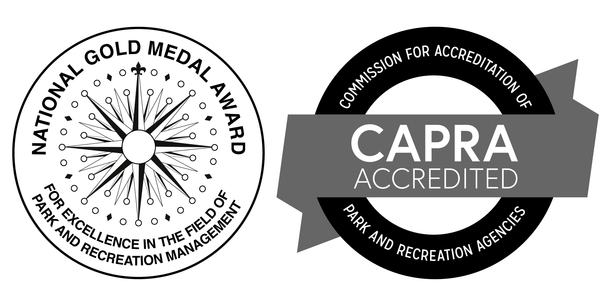 CAPRA and Gold Medal logos