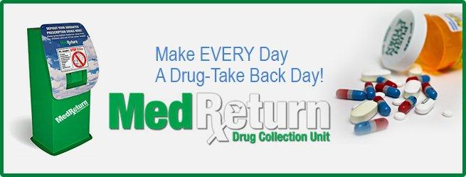 Drug Take Back flyer