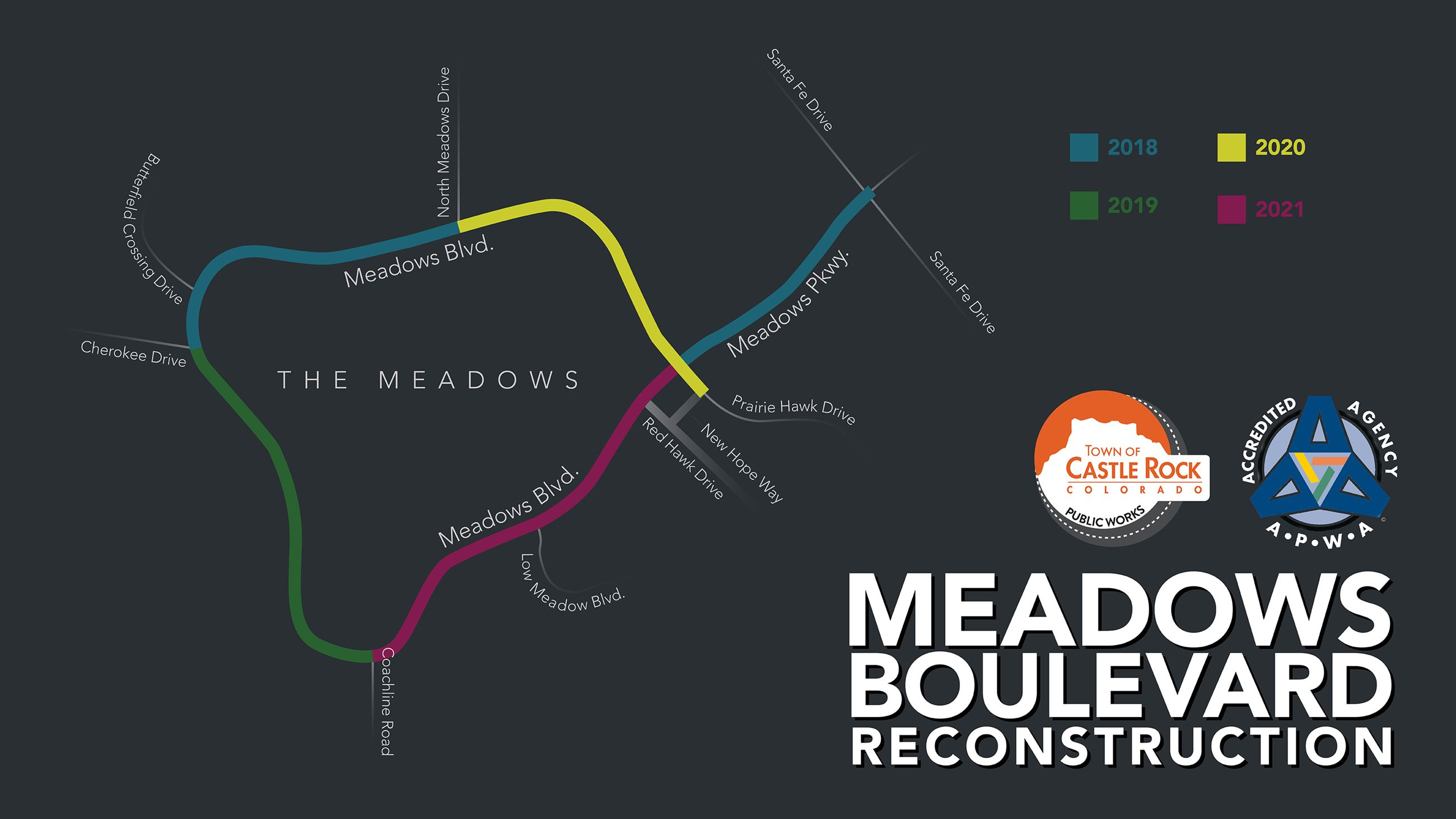 Meadows Boulevard Reconstruction Map(JPG)